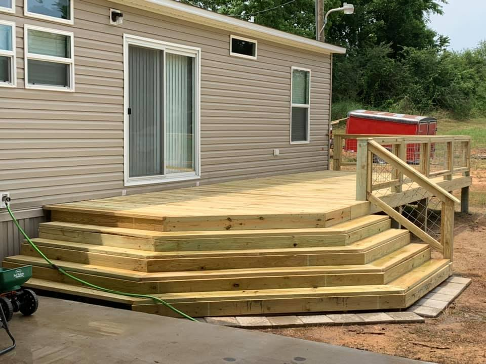 deck and patio in laurel ms